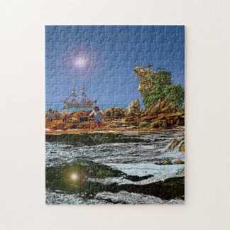 treasure island jigsaw puzzle