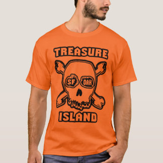 Treasure Island light skull T-Shirt