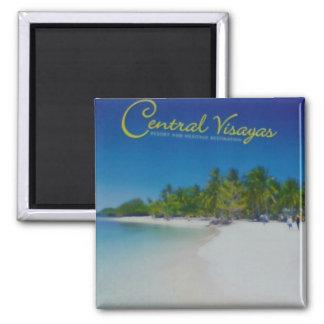 Treasure Island Square Magnet
