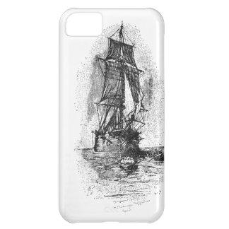 Treasure Island Pirate Ship Case For iPhone 5C