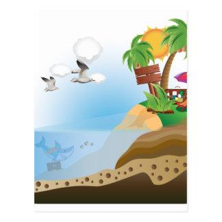 Treasure Island Postcard