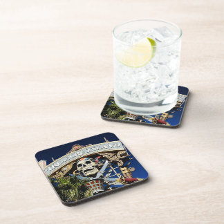 Treasure Island Sign Beverage Coaster