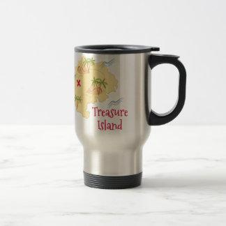 Treasure Island Stainless Steel Travel Mug