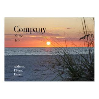Treasure Island Sunset Business Card