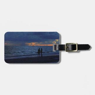 Treasure Island Sunset Bag Tags