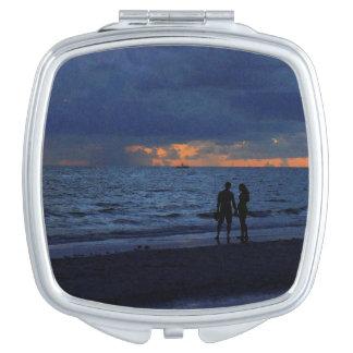 Treasure Island Sunset Compact Mirrors