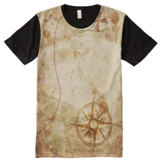 Treasure Island T-Shirt All-Over Print T-Shirt