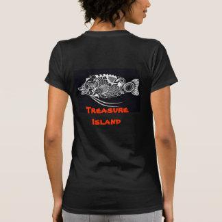 Treasure Island womens shirt design