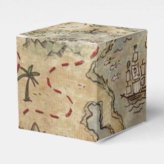 Treasure Map Favor Boxes