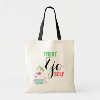 **Treat Budget Tote Canvas Bag