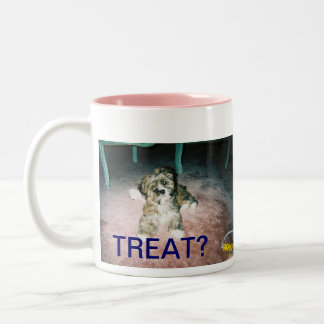 Treat?! Two-Tone Coffee Mug