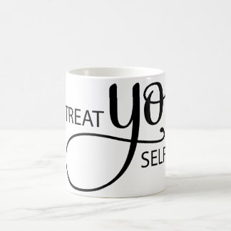 Treat Yo Self Basic White Mug