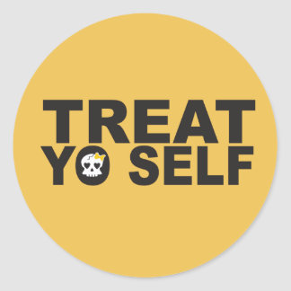 Treat Yo Self Stickers