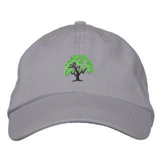 Tree 1 embroidered baseball caps