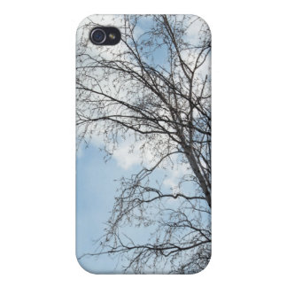 Tree Against Sky iPod Case Case For iPhone 4