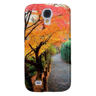 Tree Autumn Colors Japan Galaxy S4 Cover