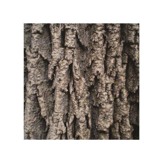 Tree bark wood wall art wood prints zazzle for Tree trunk wall art