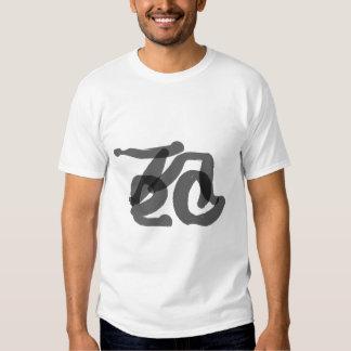 Tree Calligraphy Tshirt