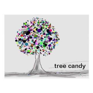 Tree Candy Postcard