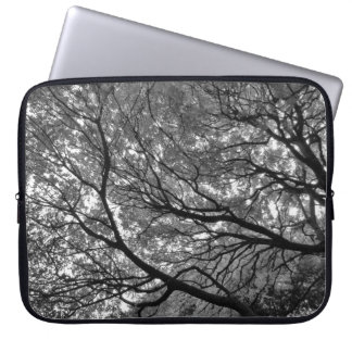 Tree Canopy III, Bute Park, Cardiff Laptop Sleeve