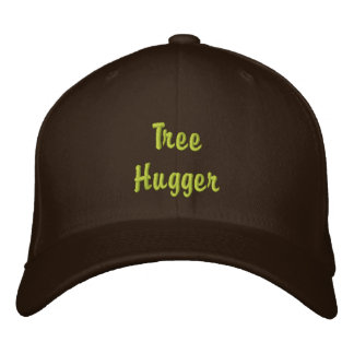 TREE HUGGER Embroidered Cap
