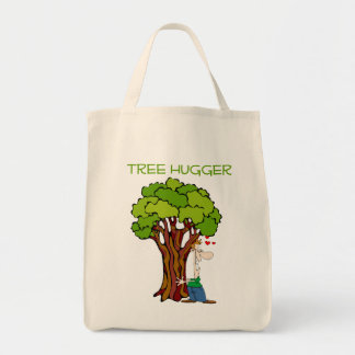 Tree Hugger - Guy Tote Bag