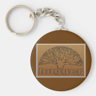 Tree Hugger Key Ring