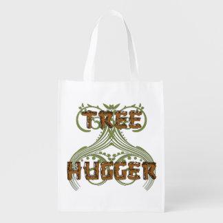 Tree Hugger Reusable Grocery Bag