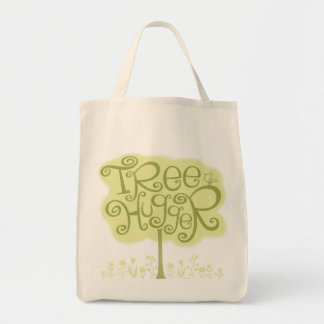 Tree Hugger Tote Bag