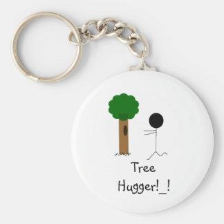tree hugger, Tree Hugger!_! Key Ring