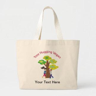 Tree Hugging Vegan Bags