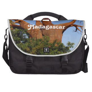 Tree in Madagascar Laptop Bags