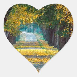 Tree Louisville Roadway Kentucky Heart Sticker