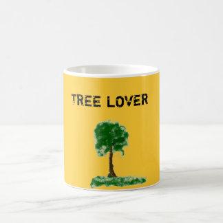 Tree lover basic white mug