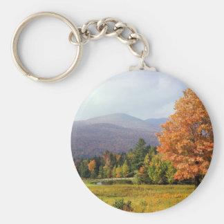 Tree Mount Mansfield Vermont Key Ring