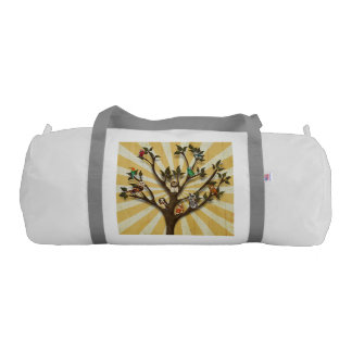 TREE OF FEATHERS DUFFLE BAG GYM DUFFEL BAG