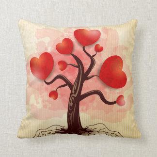 Tree of Hearts Pillow