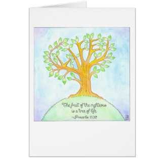Tree of Life Confirmation Card