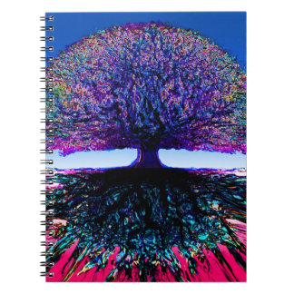 Tree of Life Creative Spiral Notebook