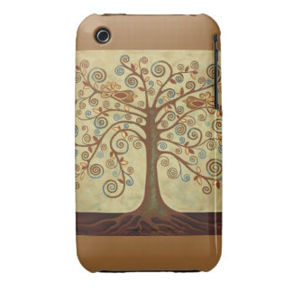 Tree of Life Design Iphone Case ~ Customisable. iPhone 3 Case