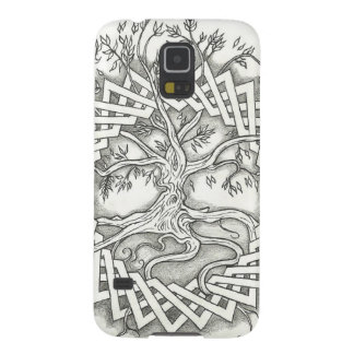 Tree of Life in Celtic Design Galaxy S5 Covers