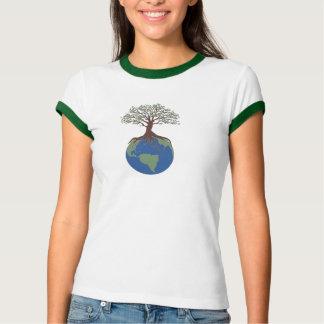 Tree of Life Ladies Ringer T Shirts