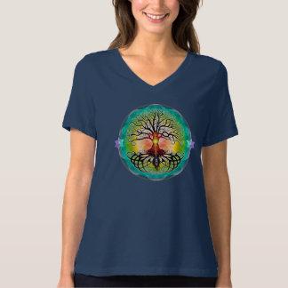 Tree of Life Ladies V-Neck Shirt