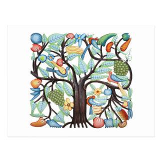 TREE of LIFE pastel Postcard