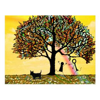 Tree of Life Renew Postcard