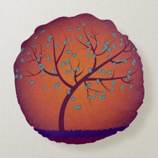 Tree of Life Round Cushion