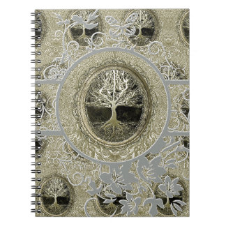 Tree of Life Simplicity Notebook