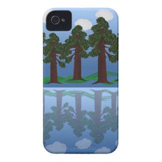 tree reflection iPhone 4 case