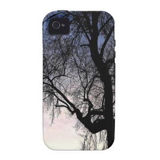Tree Sky Sunset iPhone 4 Case