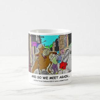 Tree Stump Vs Chainsaw Funny Mugs Cards Gifts Mugs